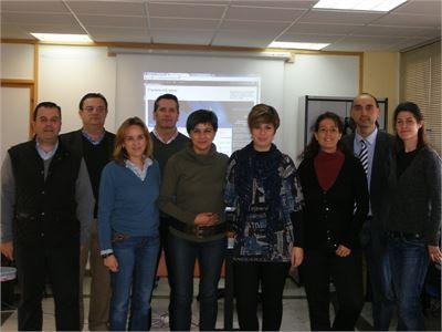 Alumnas y personal técnico del Consorcio