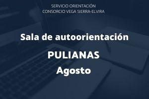 autorientación Pulianas agosto
