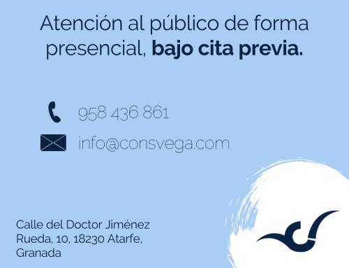 El Consorcio de la Vega Sierra-Elvira vuelve a atender de forma presencial