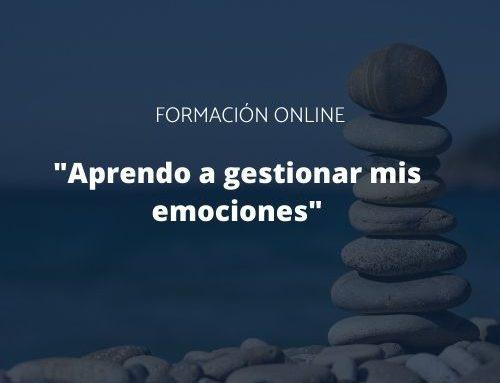"""Finaliza la formación online """"Gestión de emociones"""""""