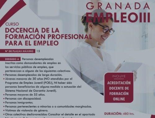 Nuevo curso: Docencia de la formación profesional para el empleo