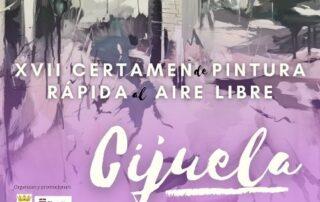 XVII Certamen de pintura rápida de Cijuela