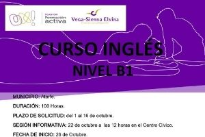nuevo curso de inglés en el municipio de Atarfe, Granada