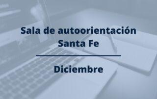 programación sala autoorientación santa fe diciembre