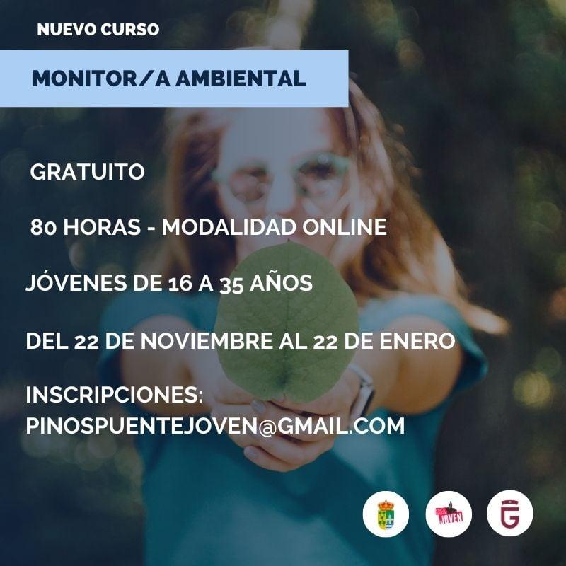 curso monitor ambiental en Pinos Puente