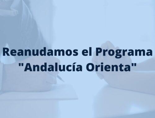 Se reanuda el Programa Andalucía Orienta