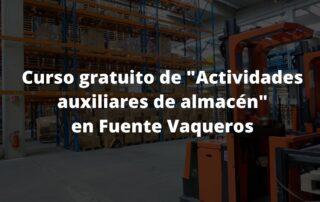 curso gratuito para desempleados en Fuente Vaqueros