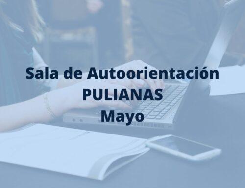 Sala de Autoorientación de Pulianas en mayo