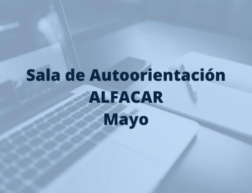 Sala de Autoorientación de Alfacar en mayo