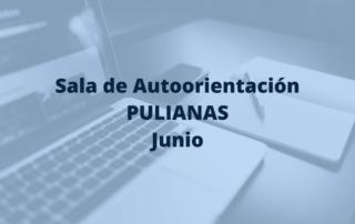 sala de autoorientación de Pulianas para el mesde junio