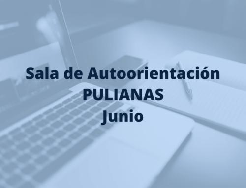 Talleres sala de autoorientación de Pulianas en junio