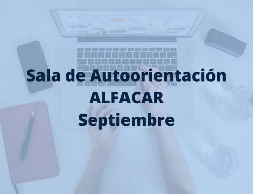 Sala Autoorientación de Alfacar, en septiembre